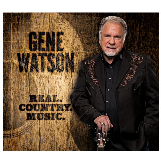 Gene Watson CD- Real. Country. Music