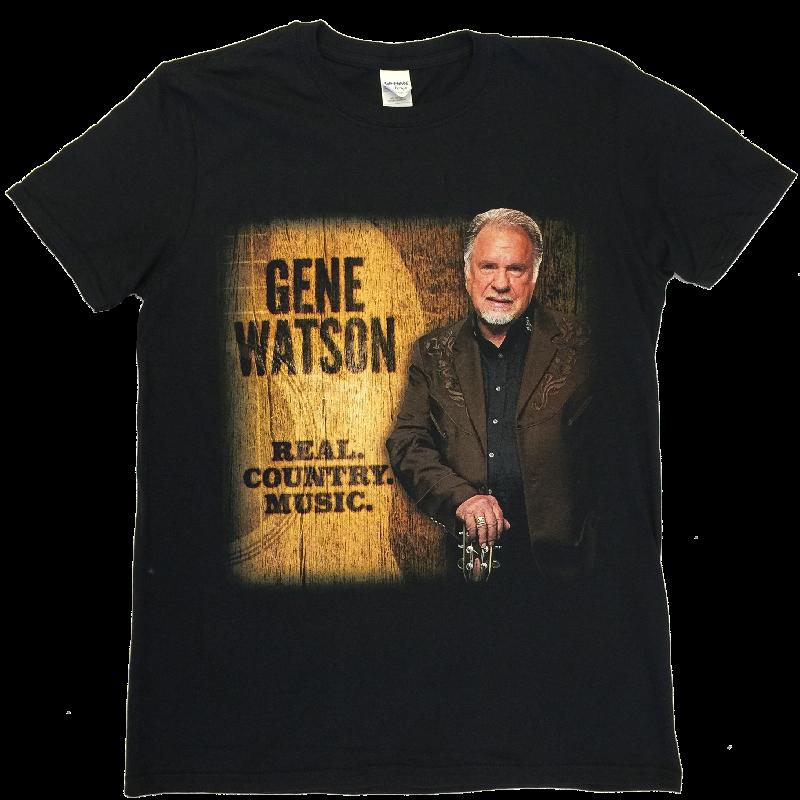Gene Watson Real.Country.Music Black Tee