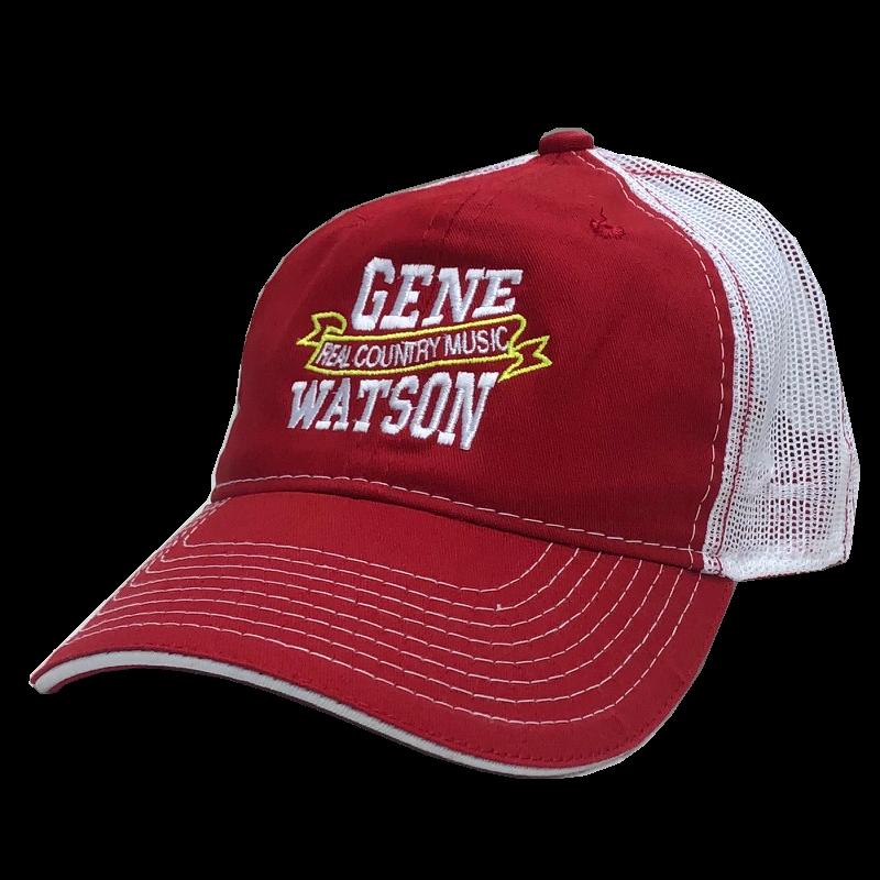 Gene Watson Red and White Ballcap