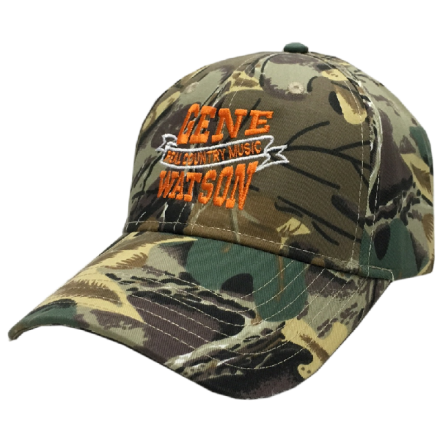 Gene Watson Real Country Music Camo Ballcap