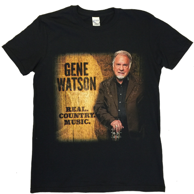 Gene Watson Real.Country.Music Black Tee